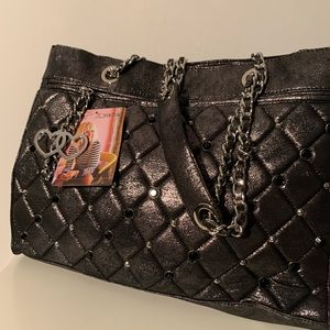 NWT Betsy Johnson Quilted Tote